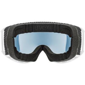 UVEX Topic FM sphere Goggles white mat/mirror silver